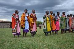Masai women Stock Image
