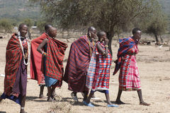 Masai Women Royalty Free Stock Photo