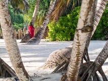 Masai on Zanzibar Royalty Free Stock Photo