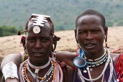 Masaimänner Stockfoto