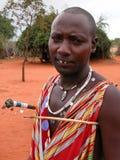 Masaimänner Stockfotos