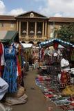 Masaimarknad i Nairobi Arkivbild