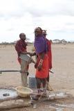 Masaimänner Lizenzfreie Stockbilder