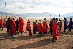 Masais Lizenzfreie Stockbilder
