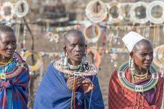Masaivrouw in Tanzania Royalty-vrije Stock Foto's