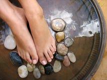 Masaje 1 del pie Foto de archivo libre de regalías