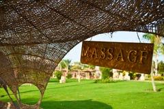 Masaje Imágenes de archivo libres de regalías