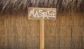 Masaje Fotografía de archivo libre de regalías