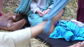 Masaje con un paño metrajes