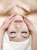 Masaje de cara Foto de archivo libre de regalías