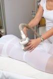masaje de las Anti-celulitis imagen de archivo libre de regalías