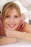 Masaje de relajación Fotografía de archivo libre de regalías