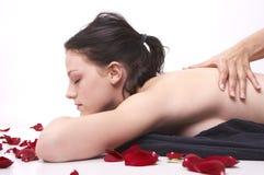 Masaje del aroma Imagen de archivo