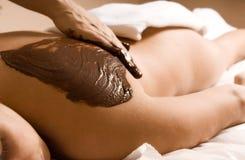 Masaje del cacao imagen de archivo