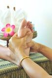 Masaje del pie Fotografía de archivo libre de regalías