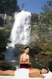 Masaje tailandés Fotos de archivo