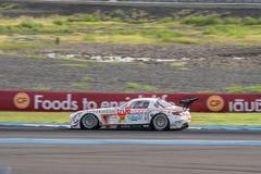 Masaki Kano d'Arnage emballant dans la course finale superbe du GT 66 recouvrements à 2 Photographie stock