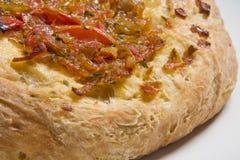Masala Bread. A masala bread made with Tomato, Onion, Garlic Stock Photography