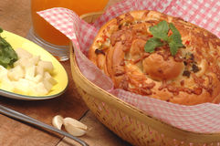 Masala Brot zum gesundes Frühstück Lizenzfreie Stockbilder
