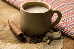 Masala chai Royalty Free Stock Photos