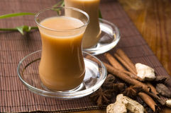 Masala chai stock images