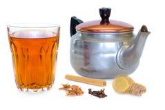 masala chai Стоковые Изображения