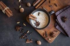 Masala Chai herbata zdjęcia royalty free