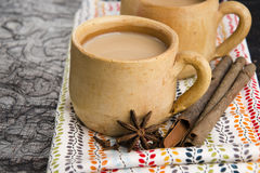 Masala chai Royalty Free Stock Photo