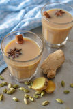 Masala chai tea Royalty Free Stock Photography