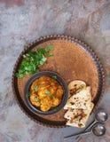 Masala do tikka da galinha, preparado com galinha do tandoori Imagens de Stock