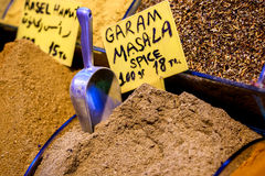 Masala Garam для продажи в Турции Стоковое Изображение RF