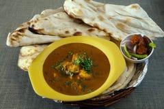 Masala indiano popular do paneer da manteiga do prato imagens de stock