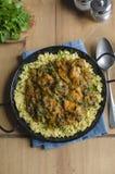 Masala indien de saag de poulet image libre de droits