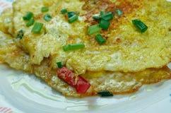 Masala Omelette Stock Photo
