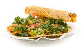 Masala Papad. Indian traditional healthy snacks food Masala Papad Royalty Free Stock Images