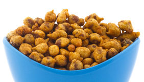 Masala Peanuts. Stock Photo