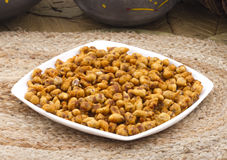 Masala Peanuts. Royalty Free Stock Photography