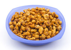 Masala Peanuts. Stock Photos
