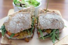 Masala sandwich. Royalty Free Stock Photography
