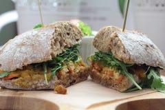 Masala sandwich. Stock Photography