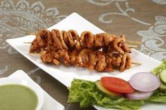 Masala Soya Kebab, Indian Foor.  royalty free stock photos