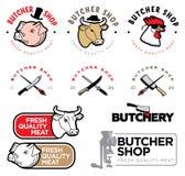 Masarka sklepu logo Obrazy Royalty Free