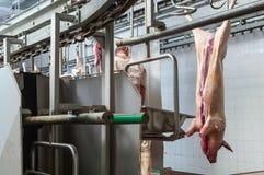 Masarka w mięsnym przemysłu wnętrzu Zdjęcia Royalty Free