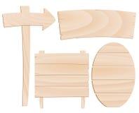 masarki wskaźników wektorowy drewno ilustracja wektor