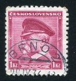 Masaryk总统 库存照片