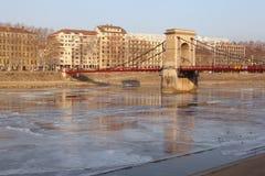 Masaryk bridge Stock Photography