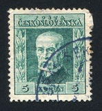 Masaryk Royalty Free Stock Photography