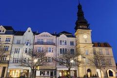 Masaryk Square in Ostrava Royalty Free Stock Photos