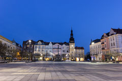 Masaryk Square in Ostrava Royalty Free Stock Photography