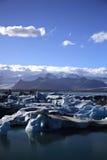 Masas de icebergs Foto de archivo libre de regalías